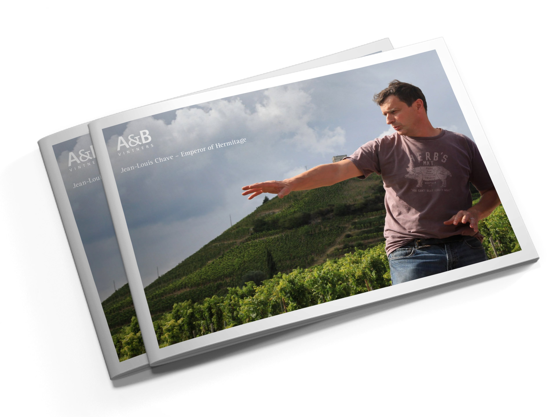 Brochure design for AB Vintners J-L Chave