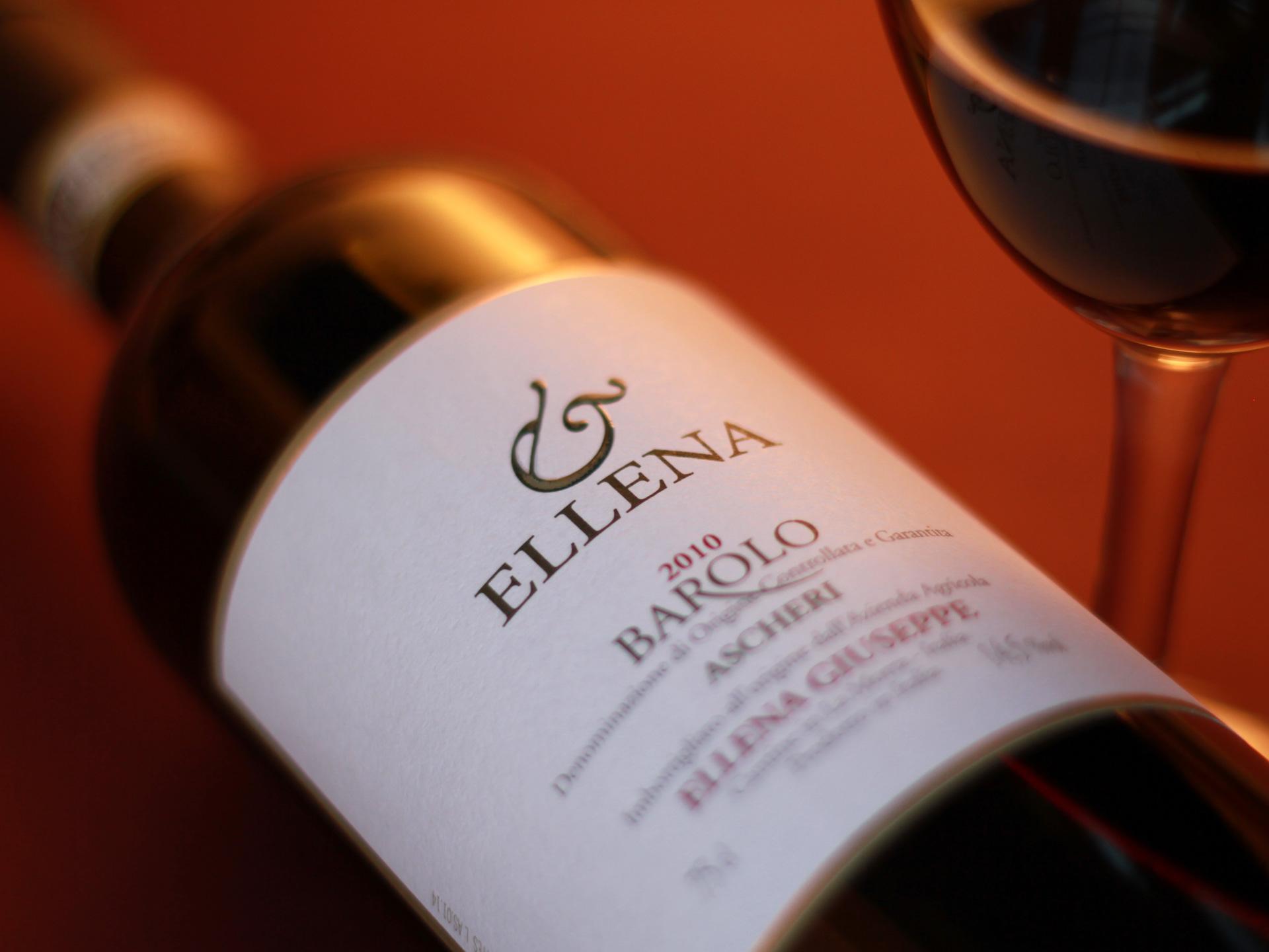 Giuseppe Ellena Barolo wine photography
