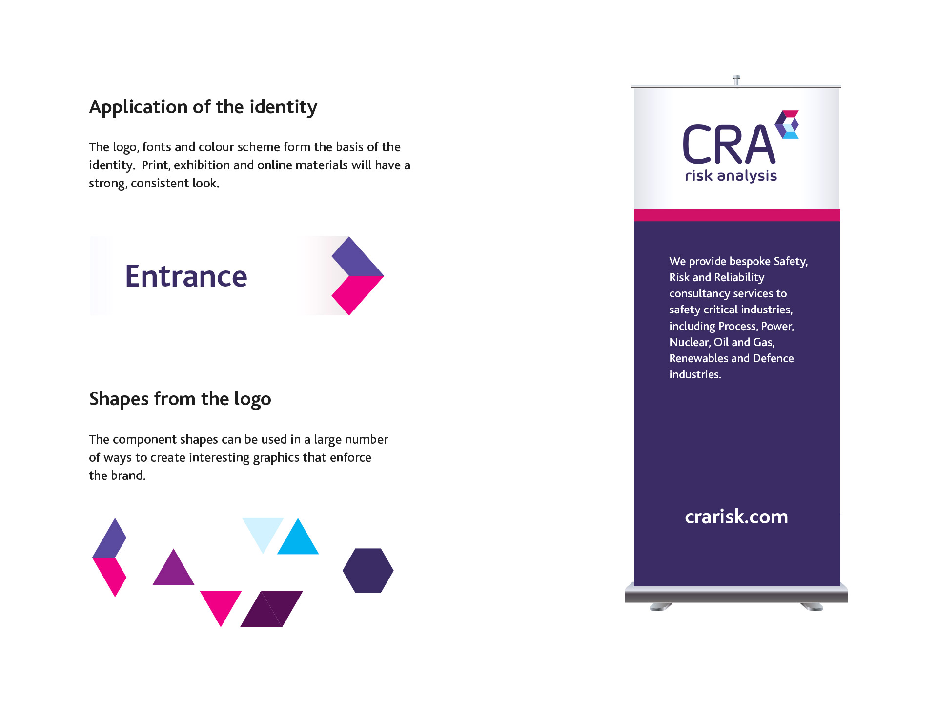 Branding and identity for CRA