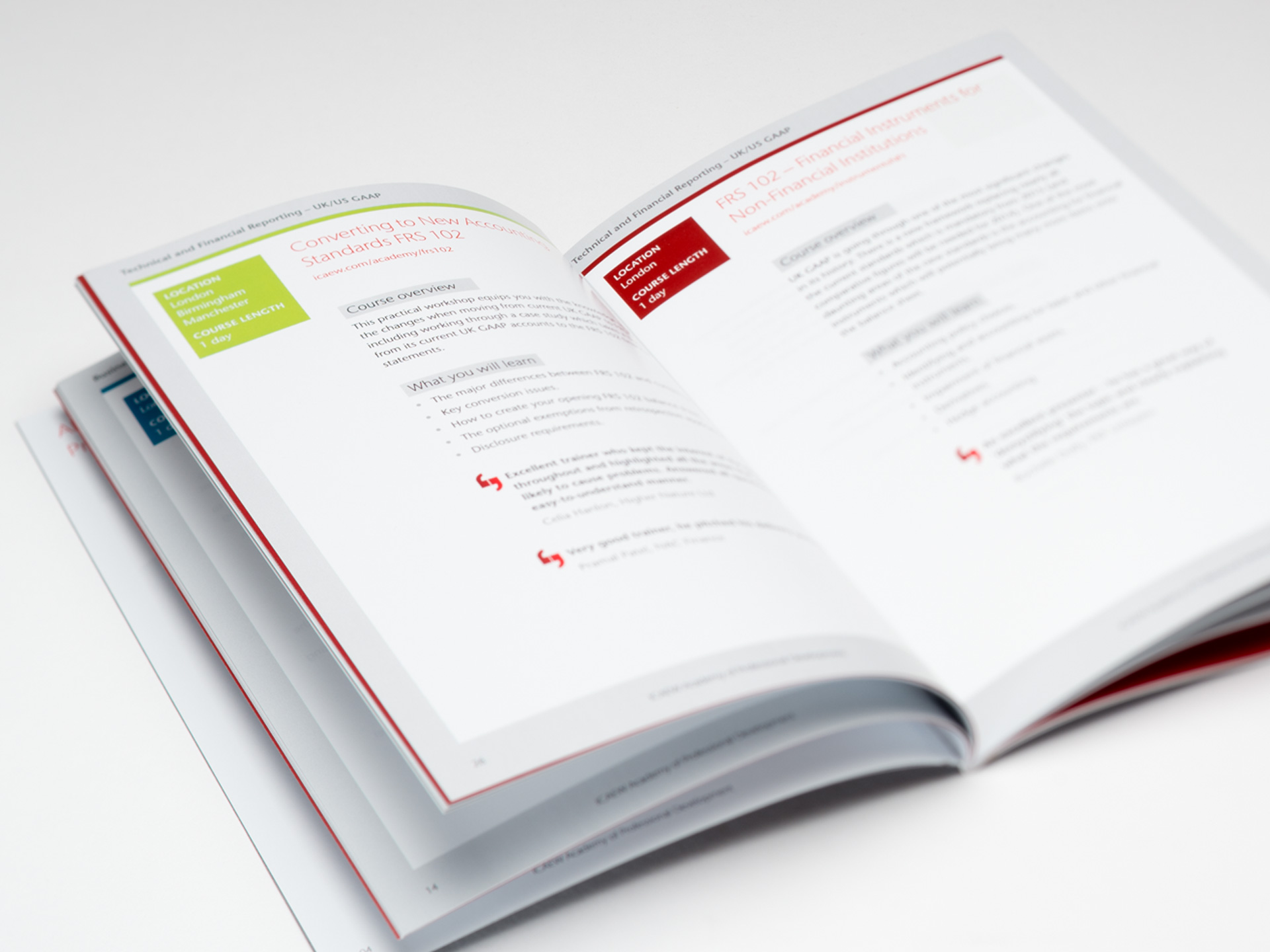 ICAEW Brochures and <br>Graphic Design