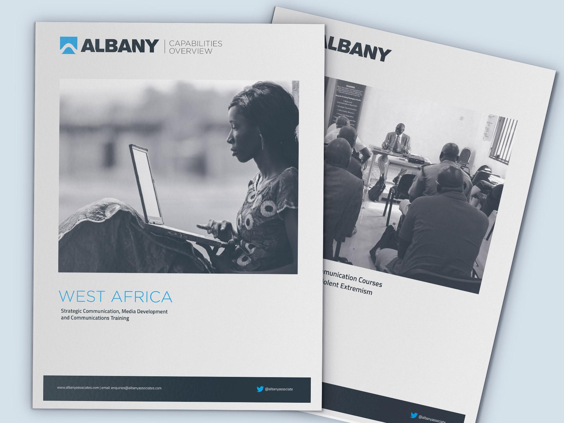 Albany Associates Graphic Design