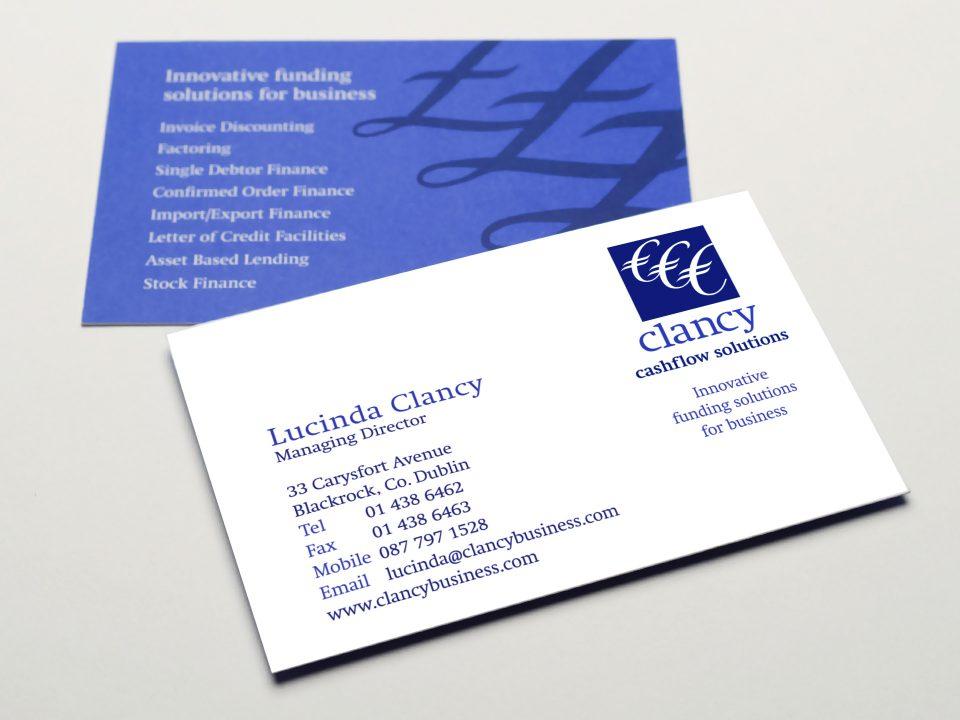 Clancy Cashflow Solutions Brand Identity
