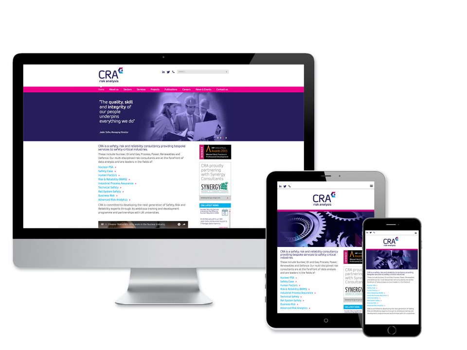 CRA Website Design and Development