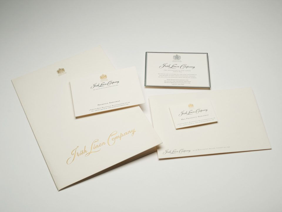 Irish Linen Company Stationery