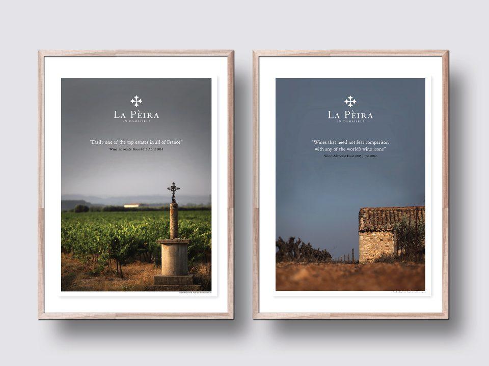 La Pèira Poster Design