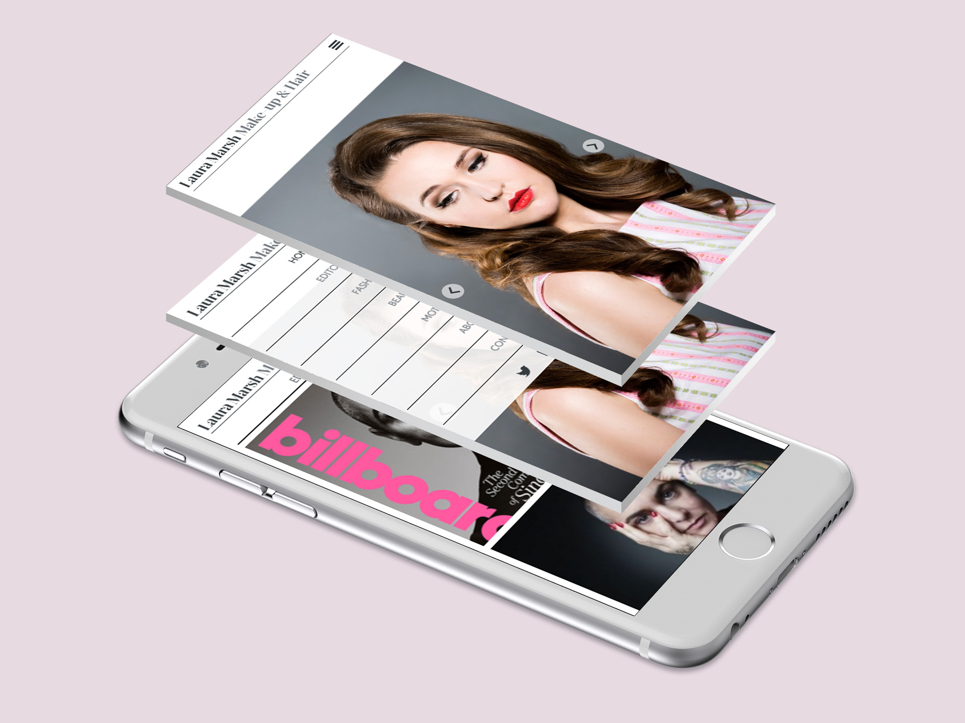 Laura Marsh Make-up Website <br>Design and Development