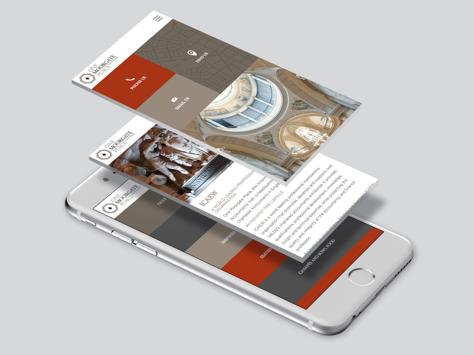 One Moorgate Place Website <br>Design and Development