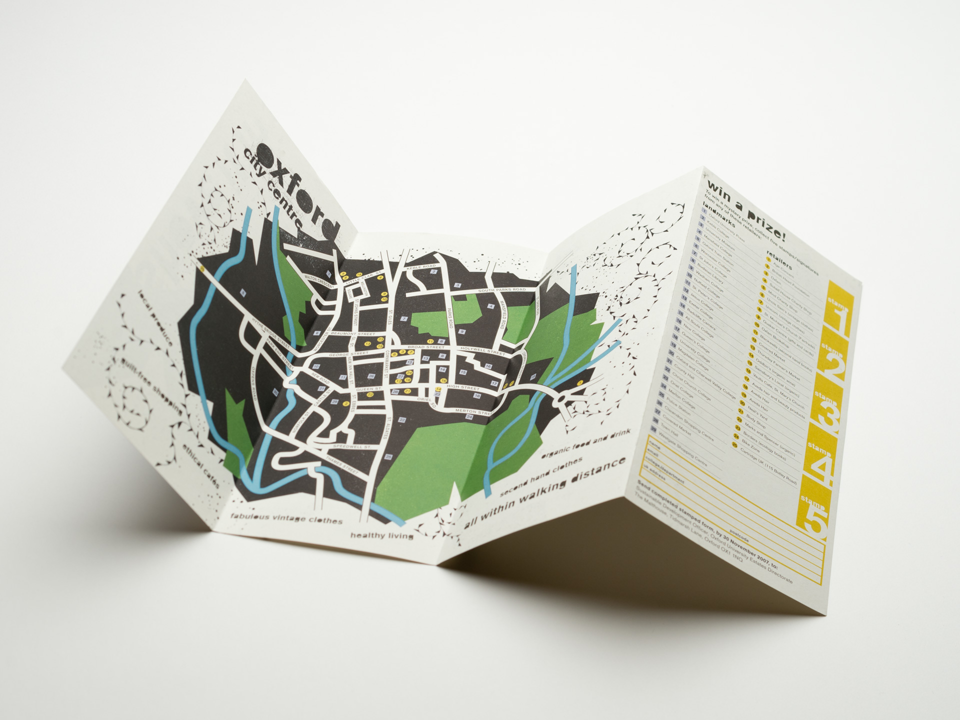Oxford University Map Design   Mercer Design