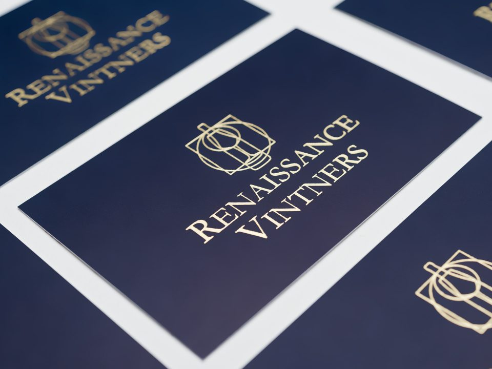Renaissance Vintners <br>Brand Identity and Website