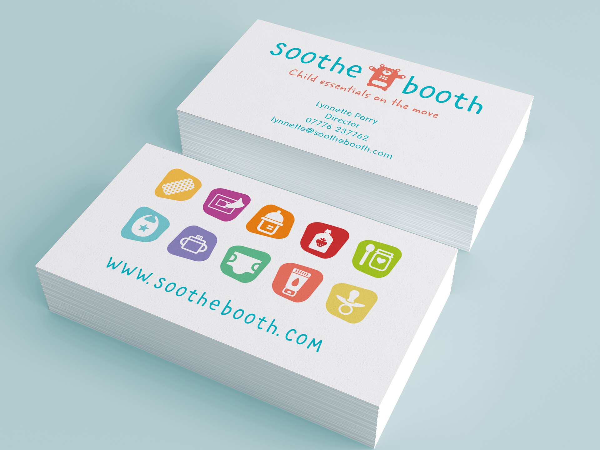 Soothe booth brand identity mercer design brand identity and icon design is one area in which mercer design excel reheart Image collections