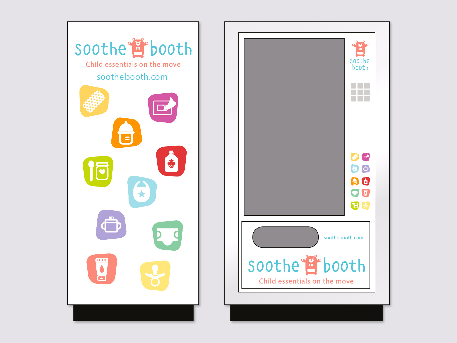 Soothe Booth Brand Identity